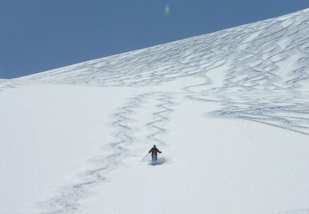 Morteratsch Glacier freetour Bernina Švýcarsko foto 29