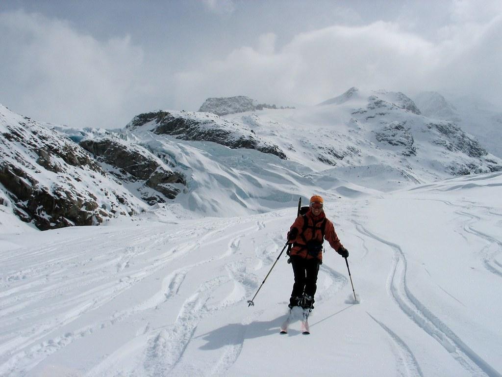 Morteratsch Glacier freetour Bernina Švýcarsko foto 37