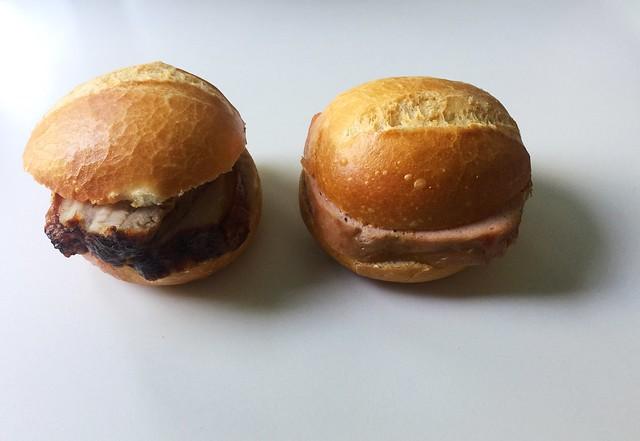Pork roast & meatloaf / Schweinekrustenbraten & Leberkäse