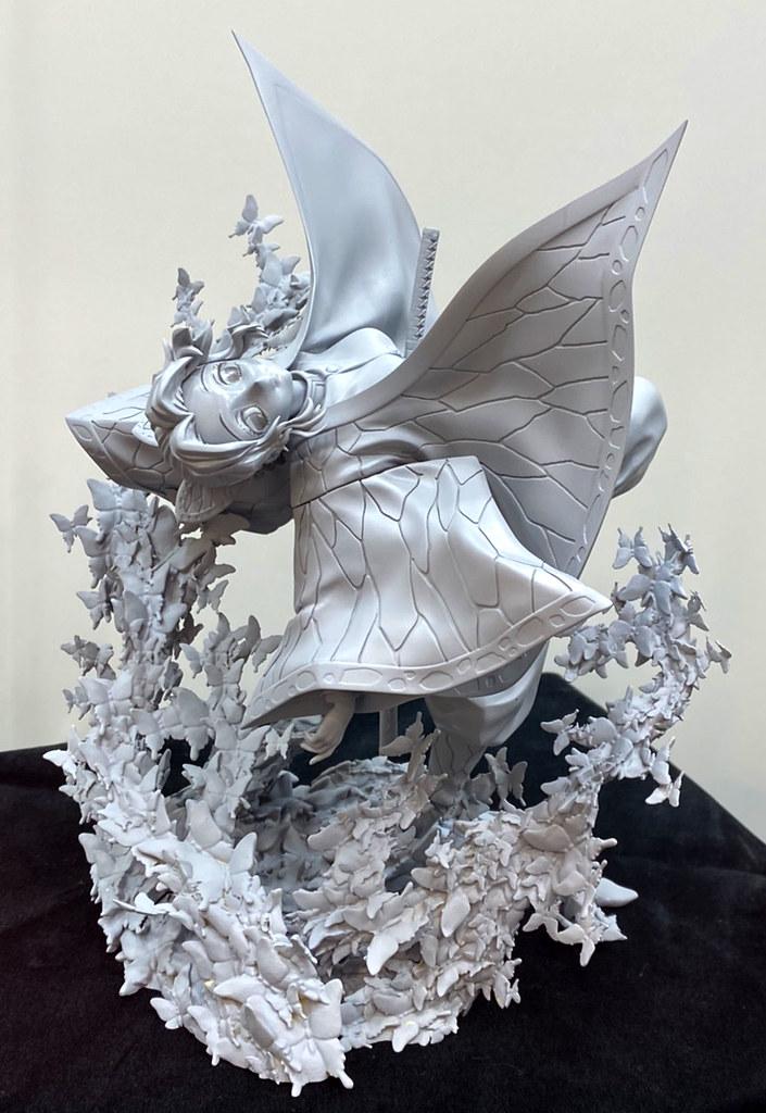 ANIPLEX+《鬼滅之刃》富岡義勇、胡蝶忍 1/8 比例模型 監修中原型首度展出!