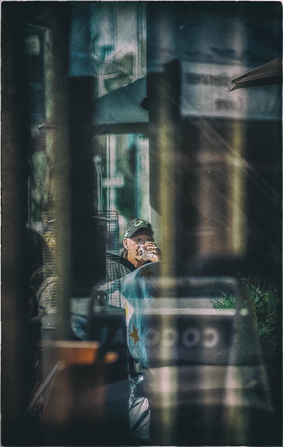 Glimpsed Through a Window