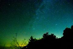 Icaria, night sky