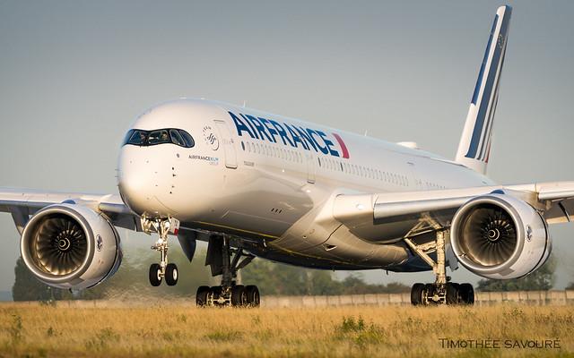 CDG | Air France Airbus A350-900 XWB | F-HTYA