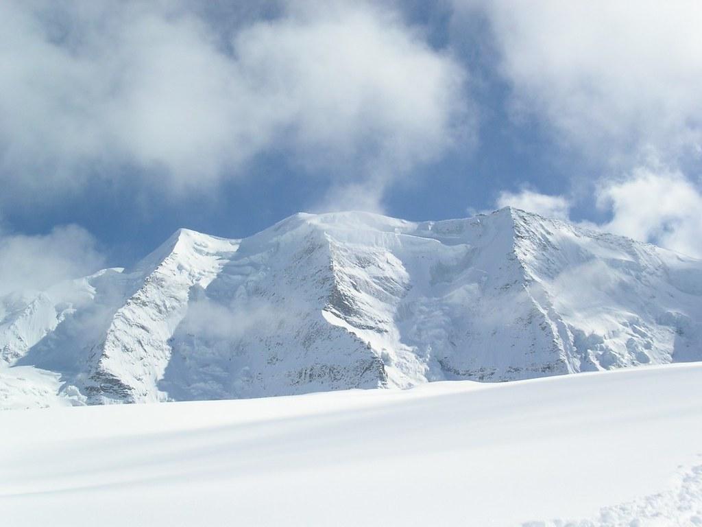 Morteratsch Glacier freetour Bernina Švýcarsko foto 13