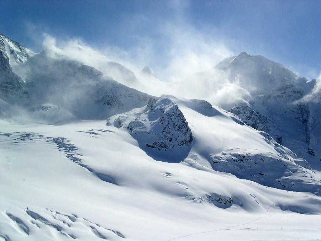 Morteratsch Glacier freetour Bernina Švýcarsko foto 12