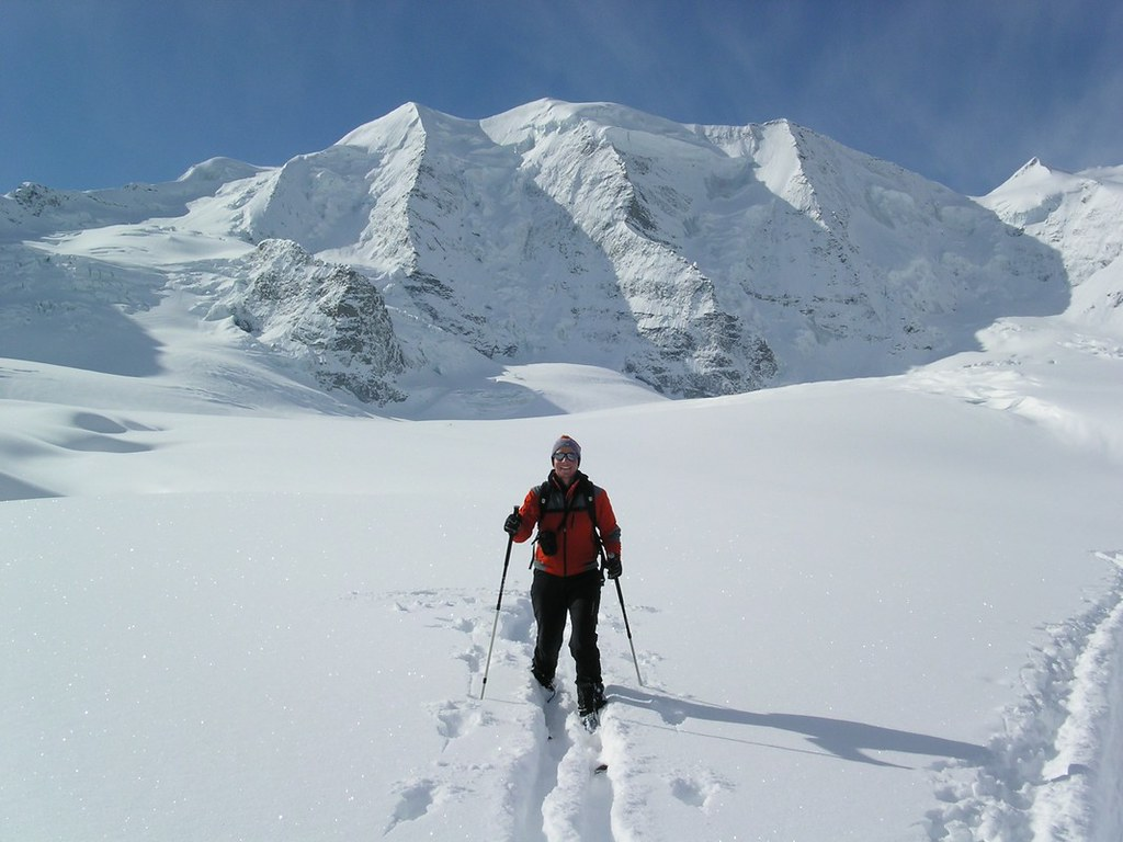 Morteratsch Glacier freetour Bernina Švýcarsko foto 15