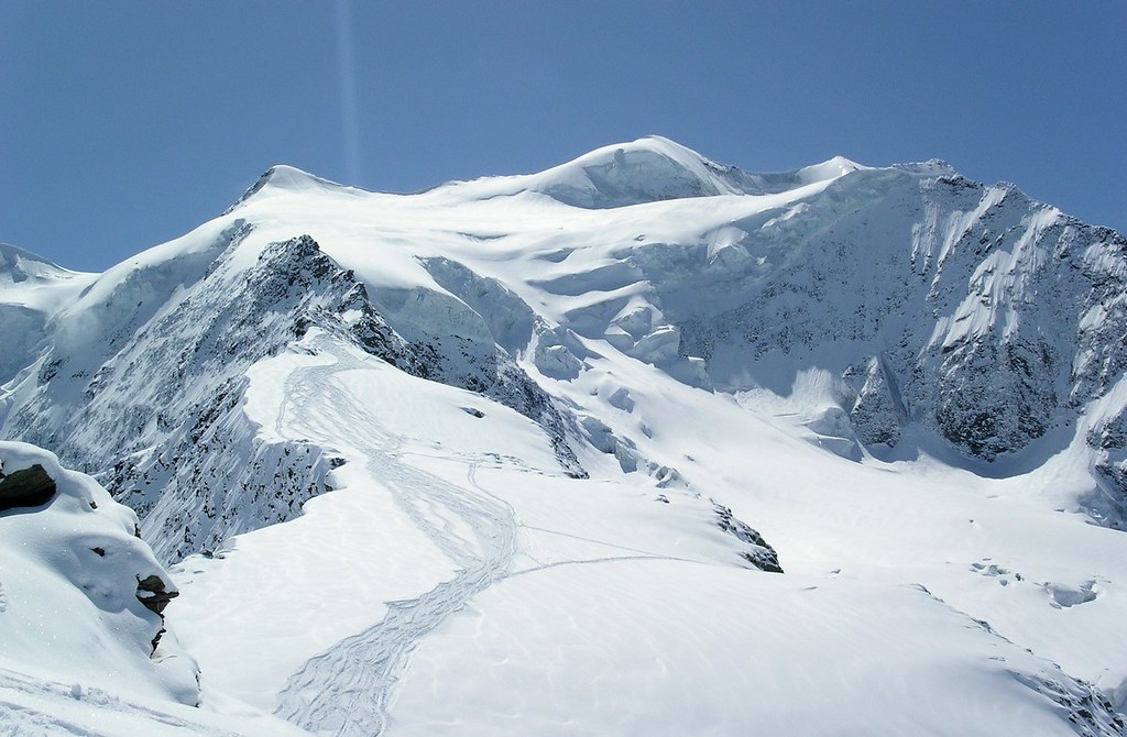 Morteratsch Glacier freetour Bernina Švýcarsko foto 26