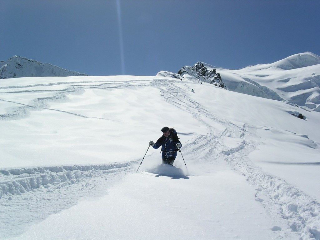 Morteratsch Glacier freetour Bernina Švýcarsko foto 25
