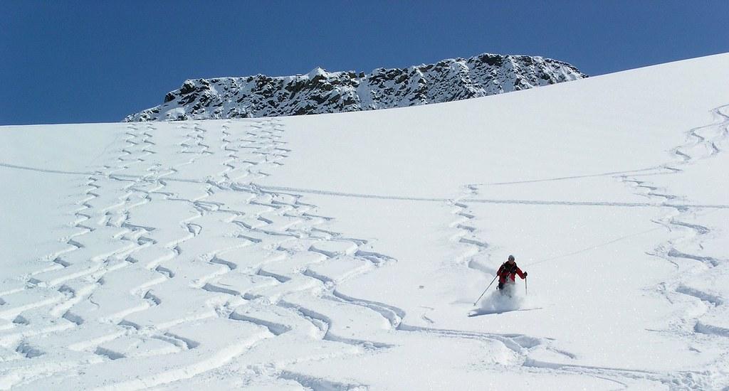 Morteratsch Glacier freetour Bernina Švýcarsko foto 32