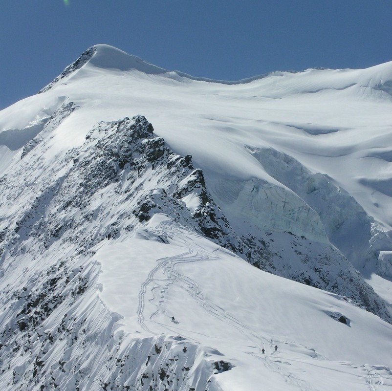 Morteratsch Glacier freetour Bernina Švýcarsko foto 27