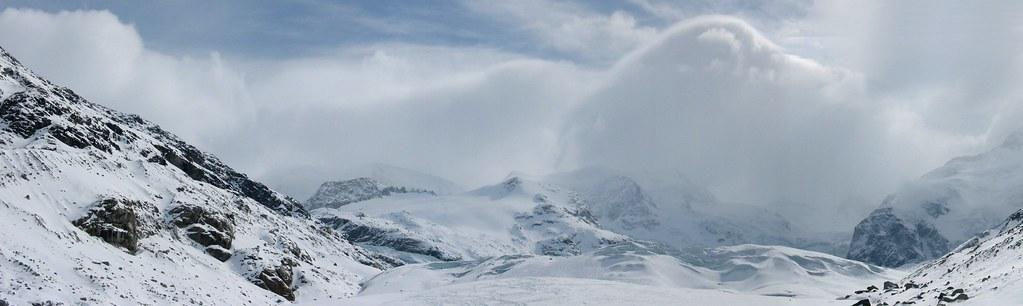 Morteratsch Glacier freetour Bernina Švýcarsko foto 36