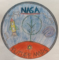 NASA school badge design