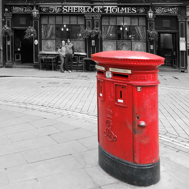 RED_The Sherlock_Holmes!