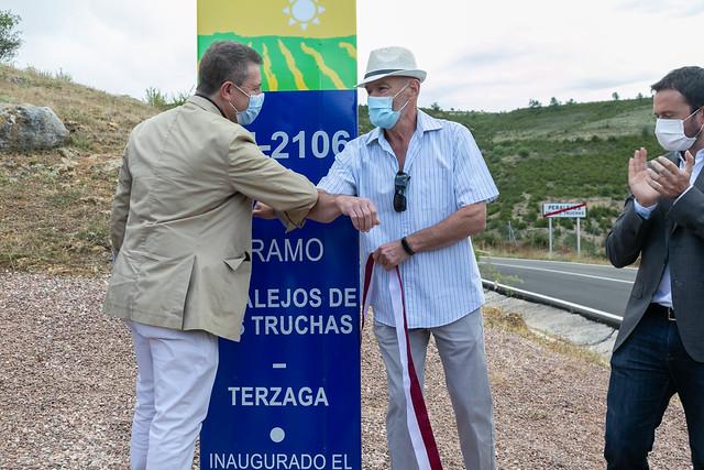 Mejora de la carretera CM-2106 en Peralejos de las Truchas