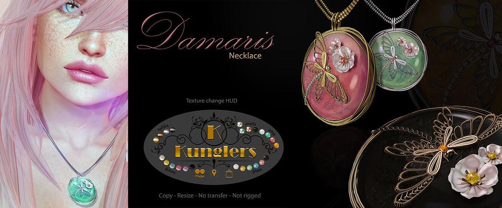 KUNGLERS – Damaris necklace