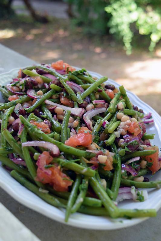 salade aux trois haricots 2
