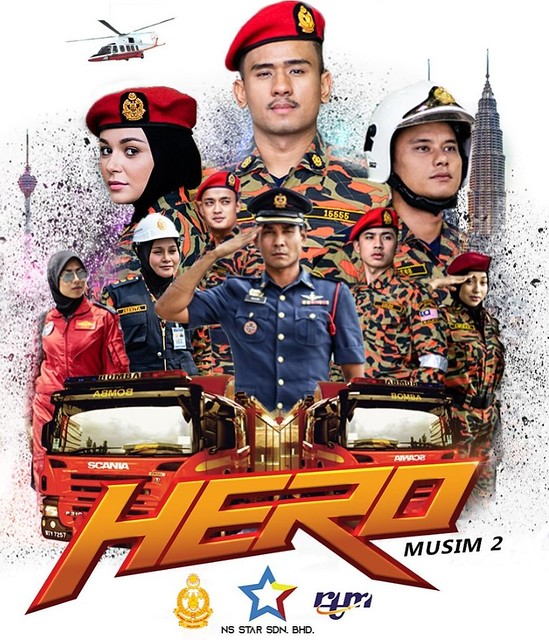 RTM Siar Kembali Drama HERO 2 Cabaran Kerjaya Bomba