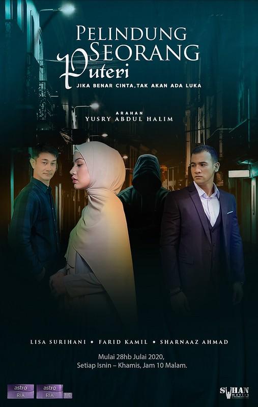 Drama Bersiri PELINDUNG SEORANG PUTERI Lakonan Lisa Surihani & Farid Kamil