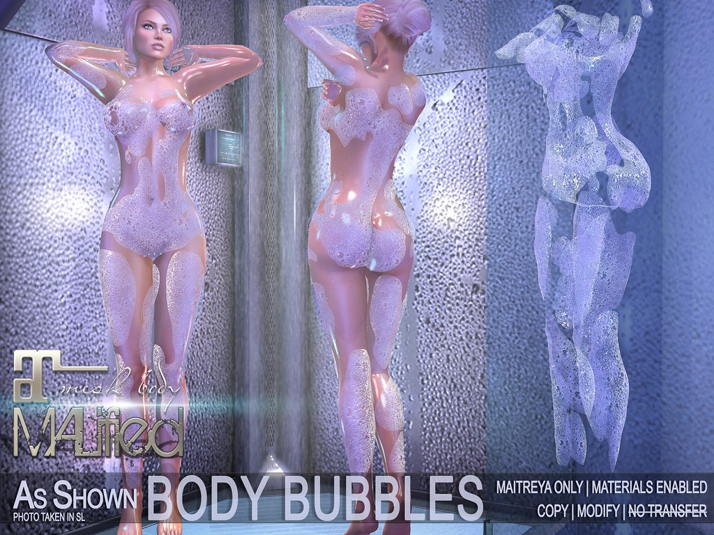 MALified – Body Bubbles – Maitreya Only