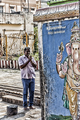 in India,se non pregate,avete sprecato il viaggio (Henry Michaux'Un barbaro in Asia')