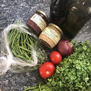 salade aux trois haricots 3