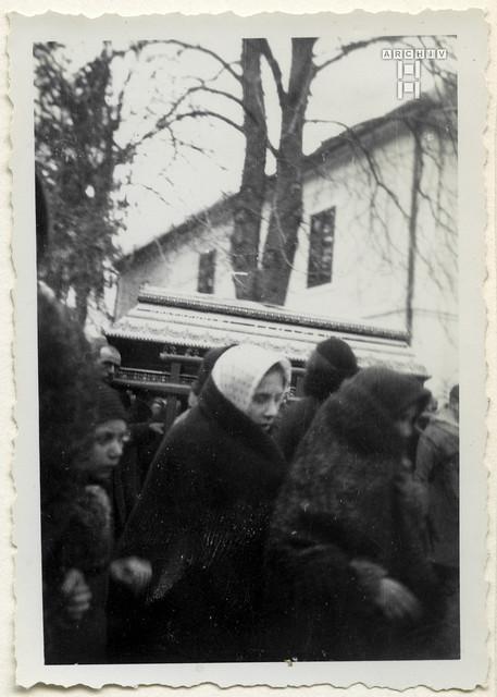ArchivTappenX957 Album u, Orthodoxe Beerdigung, 1950er