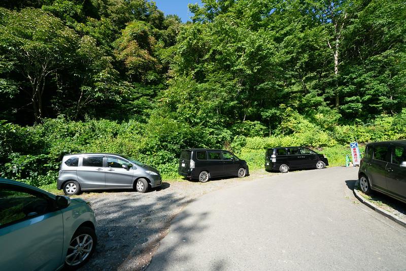 会津駒ヶ岳の駐車場