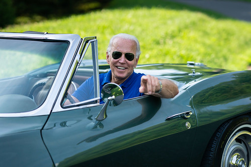 Behind the Scenes of Joe Biden's 1967 Corvette Stingray - Wilmington, DE - July 16, 2020 | by Biden For President