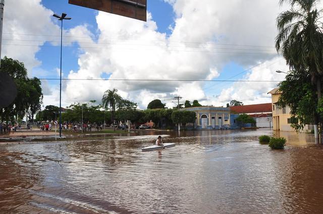Enchente Rio Aquidauana