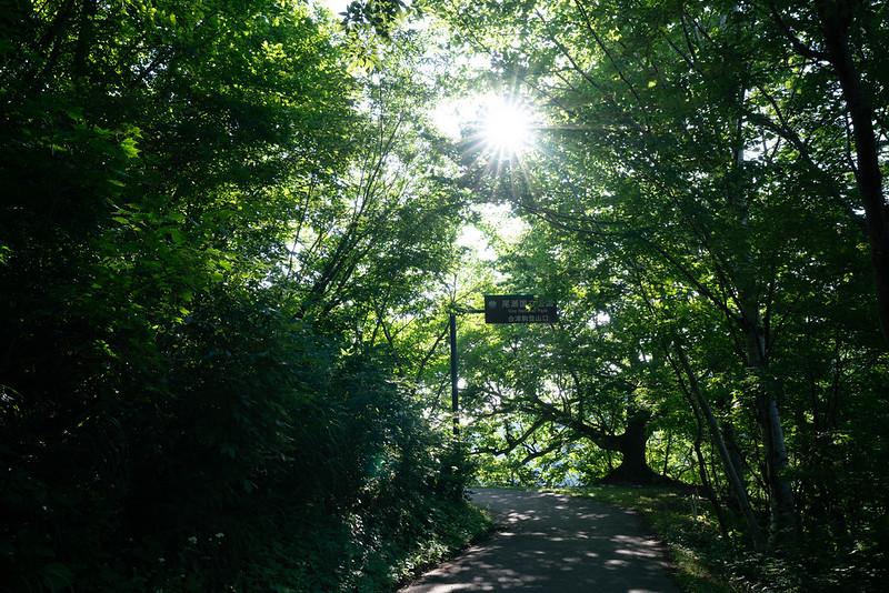 会津駒ヶ岳の登山口