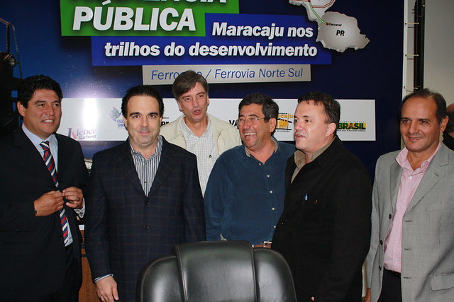 Audiência Pública sobre a Ferroeste em Maracaju