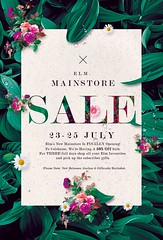 Elm. New Mainstore Opening & Sale!