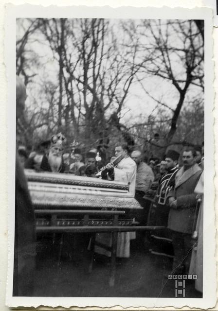 ArchivTappenX958 Album u, Orthodoxe Beerdigung, 1950er