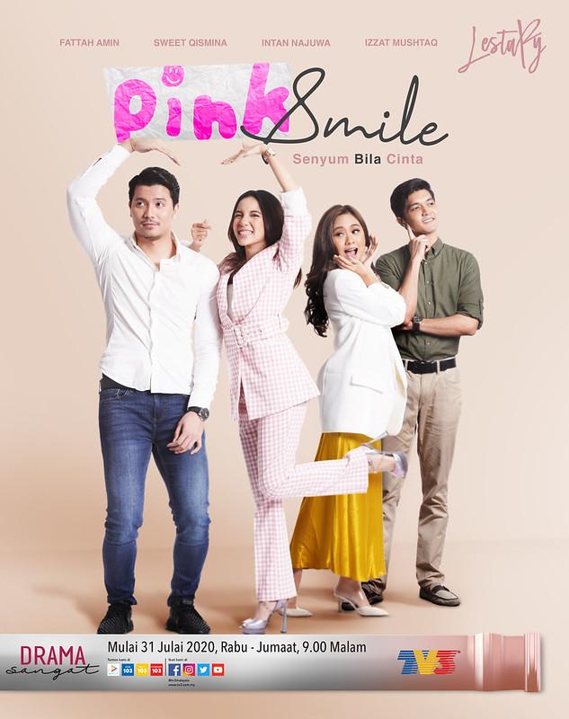 Tentang Drama Lestary: Pink Smile Lakonan Fattah Amin & Sweet Qismina