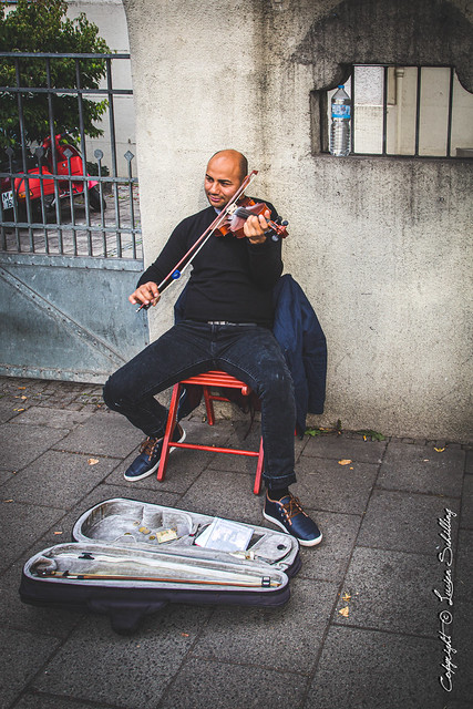 Street Musician #CanonPhotography