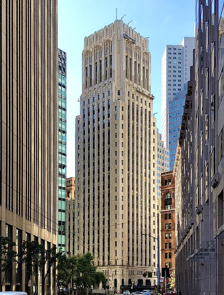 The Shell Building in downtown San Francisco.