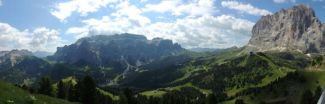 Panoramica da Ciampinoi
