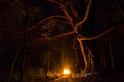 Night photography around the campfire | by yodagoat