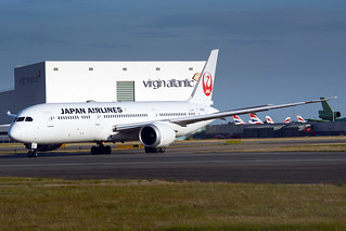 JA868J Japan Airlines (JAL) Boeing 787-9 Dreamliner (Heathrow EGLL) 22/07/2020