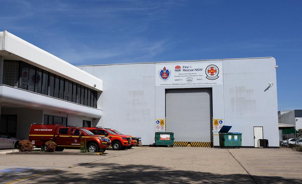 NSW Fire & Rescue, Ingleburn, Sydney, NSW.