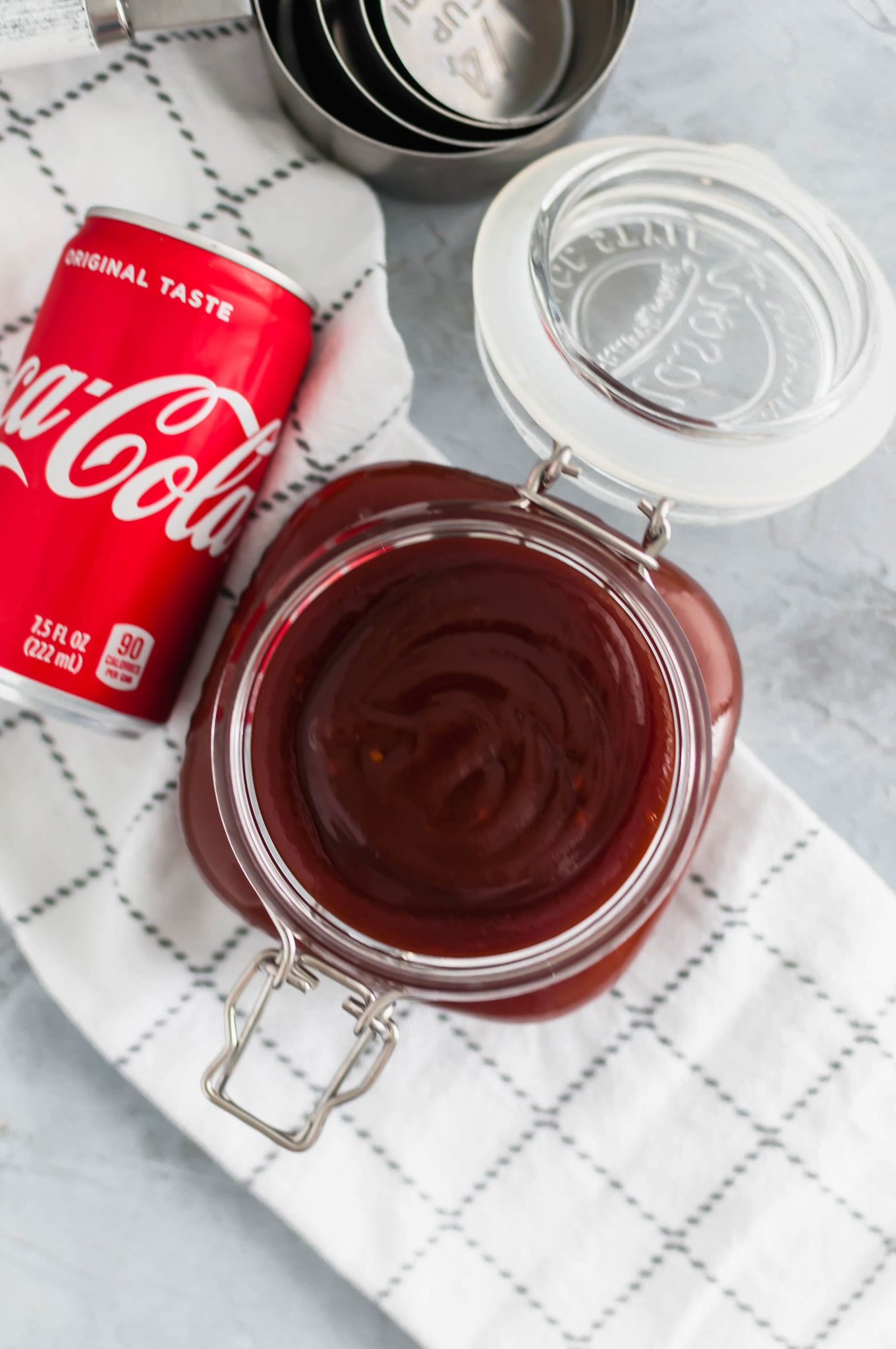 This Coca Cola BBQ Sauce is simple to make and packed with sweet and tangy flavors. Perfect for all your summer grilling.