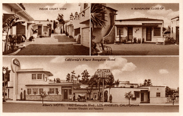 Albert's Motel, Eagle Rock
