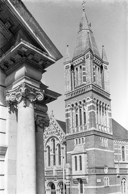 Ukrainian Catholic Cathedral, Duke St, Mayfair, Westminster, 1987 87-5g-11-positive_2400