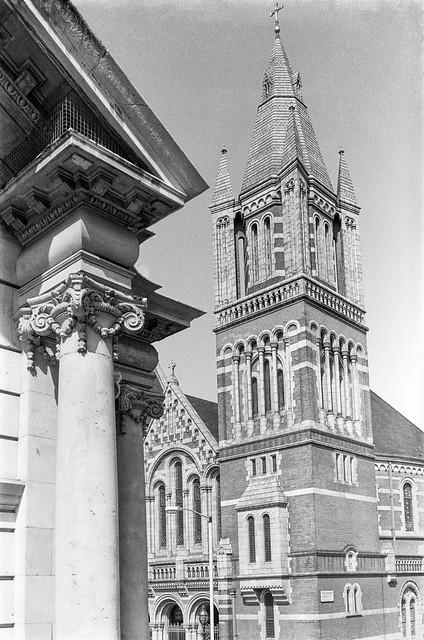 Ukrainian Catholic Cathedral, Duke St, Mayfair, Westminster, 1987 87-5g-11-positive_2400