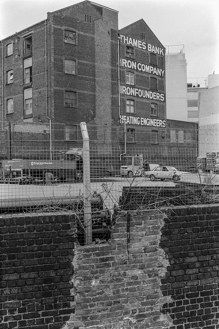 Thames Bank Iron Company, Lisson Grove, Westminster, 1977 87-5c-43-positive_2400