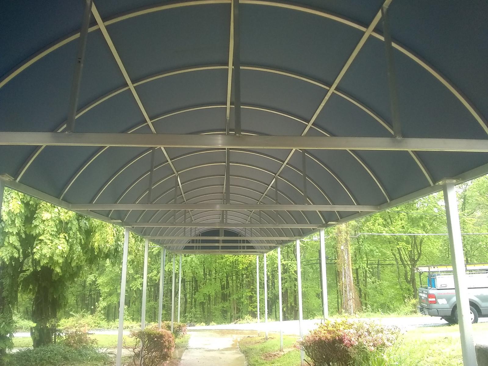 Long Entrance Canopy