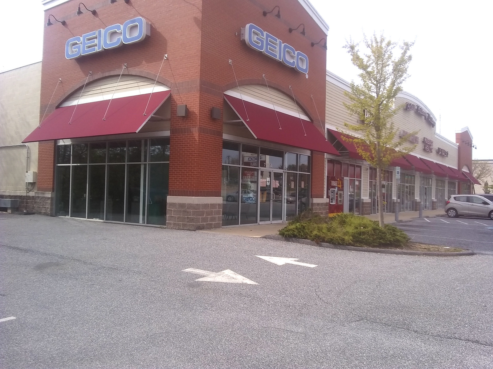 Commercial Open Sided Awnings