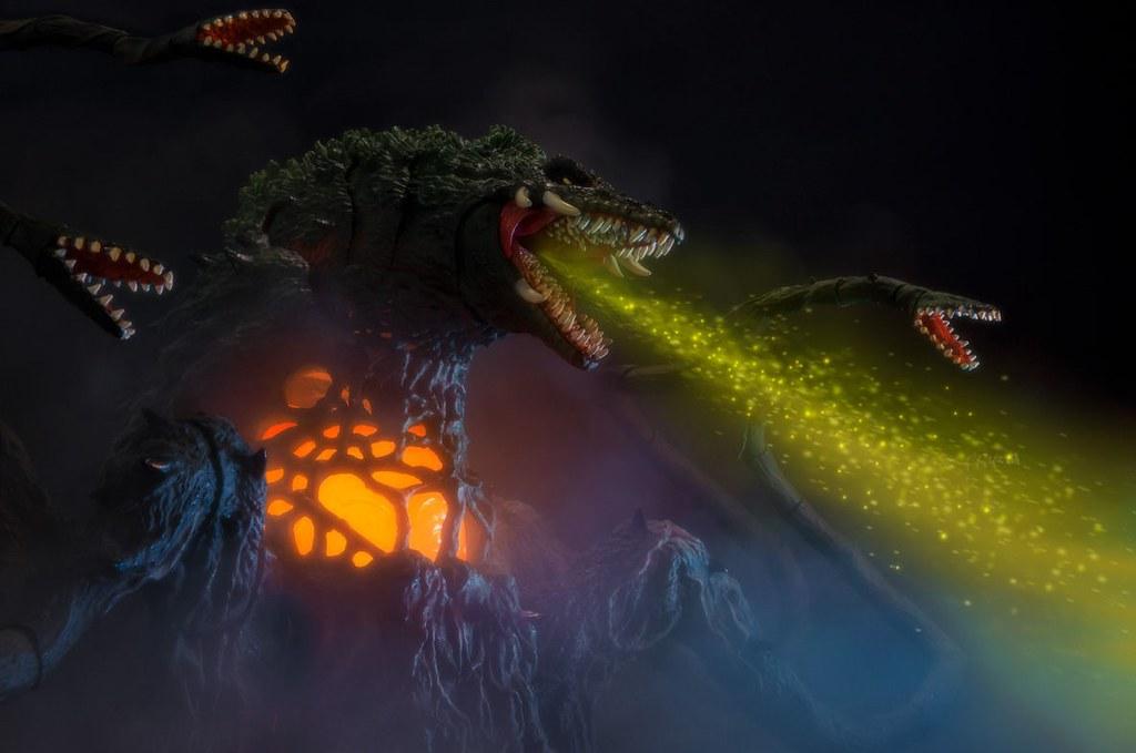 觸手系神獸再臨~S.H.MonsterArts 《哥吉拉vs碧奧蘭蒂》碧奧蘭蒂 Special Color Ver.(ビオランテ Special Color Ver.)