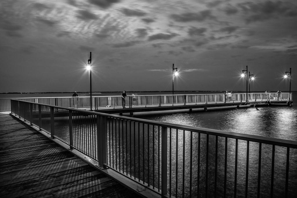 Twilight on the Pier