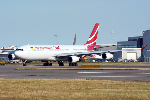 3B-NBE Air Mauritius Airbus A340-313X (Heathrow EGLL) 22/07/2020 | by Mepos World Aircraft